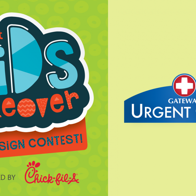 2018 Kid's Takeover Ad Design Contest – Gateway Urgent Care Ad Submissions