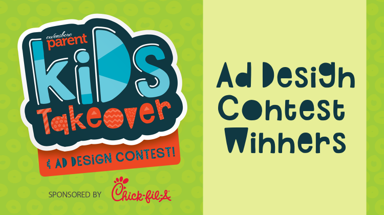 2018 Kid's Takeover Ad Design Contest Winners